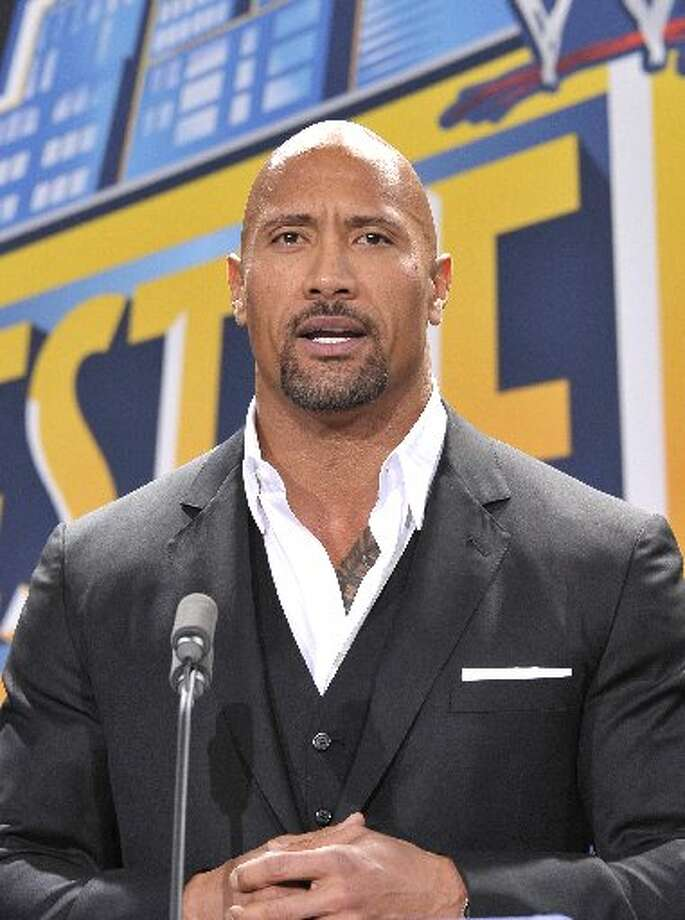 Wrestler and Actor Dwayne Johnson Photo: Getty