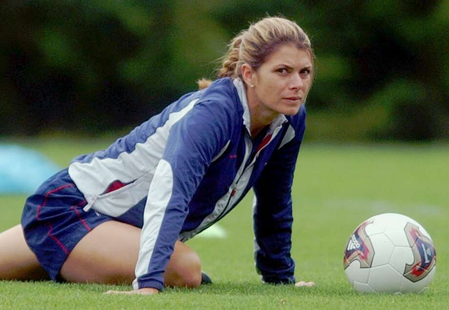 Soccer player Mia Hamm Photo: MARCIO JOSE SANCHEZ, AP / AP
