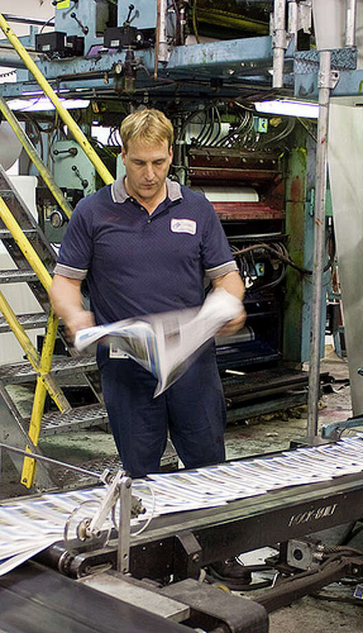 Worst: Printing press technician 