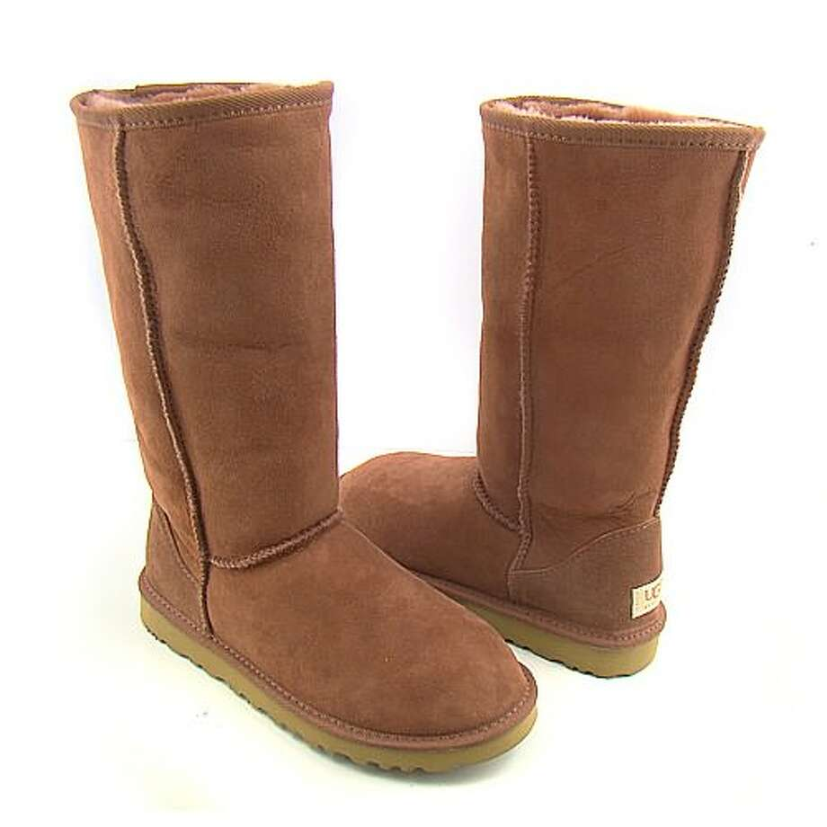 UGG BOOTS. Pottsdam Middle School in Pennsylvania banned the sheepskin-lined boots in 2012 because students were stuffing their cell phones in them and secretly texting in class.  Full story. Photo: Ugg