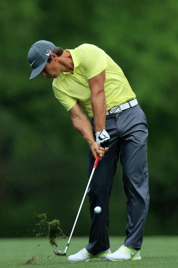 AUGUSTA, GA - APRIL 11:  Thorbjorn Olesen of Denmark hits his second shot on the fifth hole during the first round of the 2013 Masters Tournament at Augusta National Golf Club on April 11, 2013 in Augusta, Georgia. Photo: David Cannon, Getty Images / 2013 Getty Images