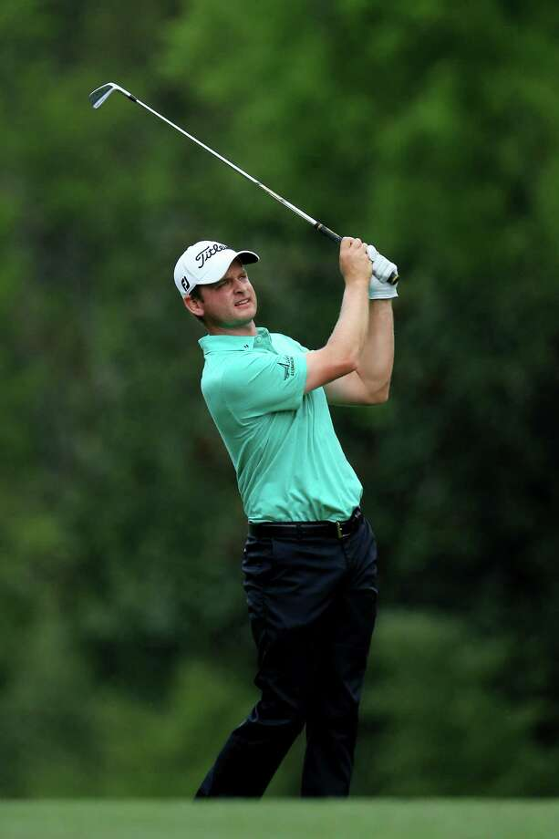 AUGUSTA, GA - APRIL 11:  John Merrick of the United States hits his second shot on the fifth hole during the first round of the 2013 Masters Tournament at Augusta National Golf Club on April 11, 2013 in Augusta, Georgia. Photo: David Cannon, Getty Images / 2013 Getty Images