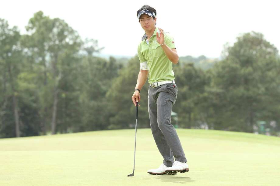 AUGUSTA, GA - APRIL 11:  Ryo Ishikawa of Japan reacts on the 18th hole during the first round of the 2013 Masters Tournament at Augusta National Golf Club on April 11, 2013 in Augusta, Georgia. Photo: Andrew Redington, Getty Images / 2013 Getty Images