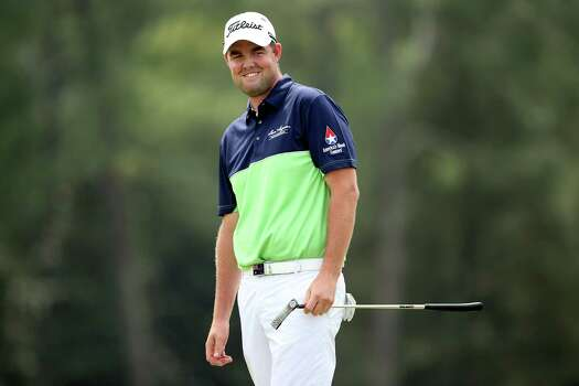 AUGUSTA, GA - APRIL 11:  Marc Leishman of Australia smiles during the first round of the 2013 Masters Tournament at Augusta National Golf Club on April 11, 2013 in Augusta, Georgia. Photo: Andrew Redington, Getty Images / 2013 Getty Images