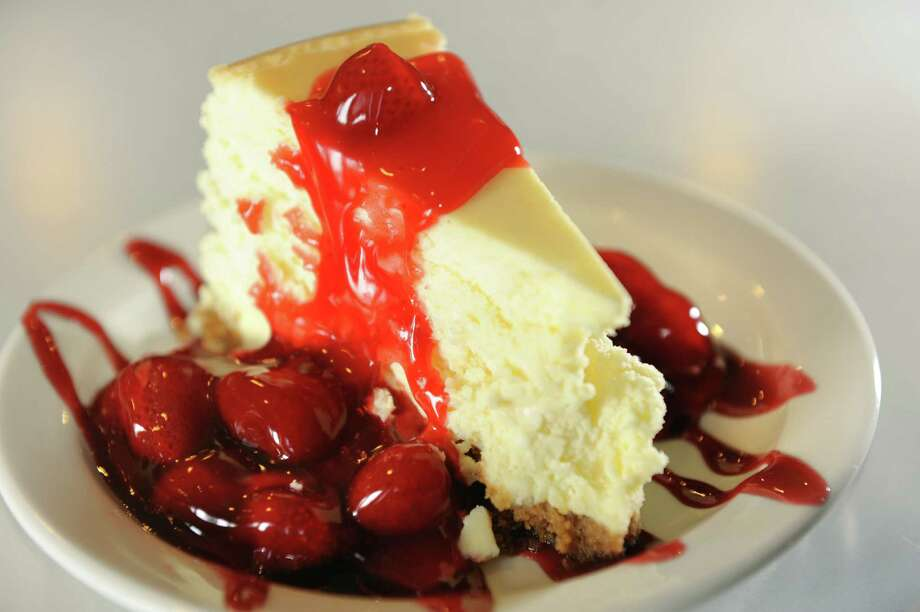 Homemade Cheesecake with strawberries on Tuesday, April 9, 2013, at the Gateway Diner in Albany, N.Y. (Cindy Schultz / Times Union) Photo: Cindy Schultz / 10021878A