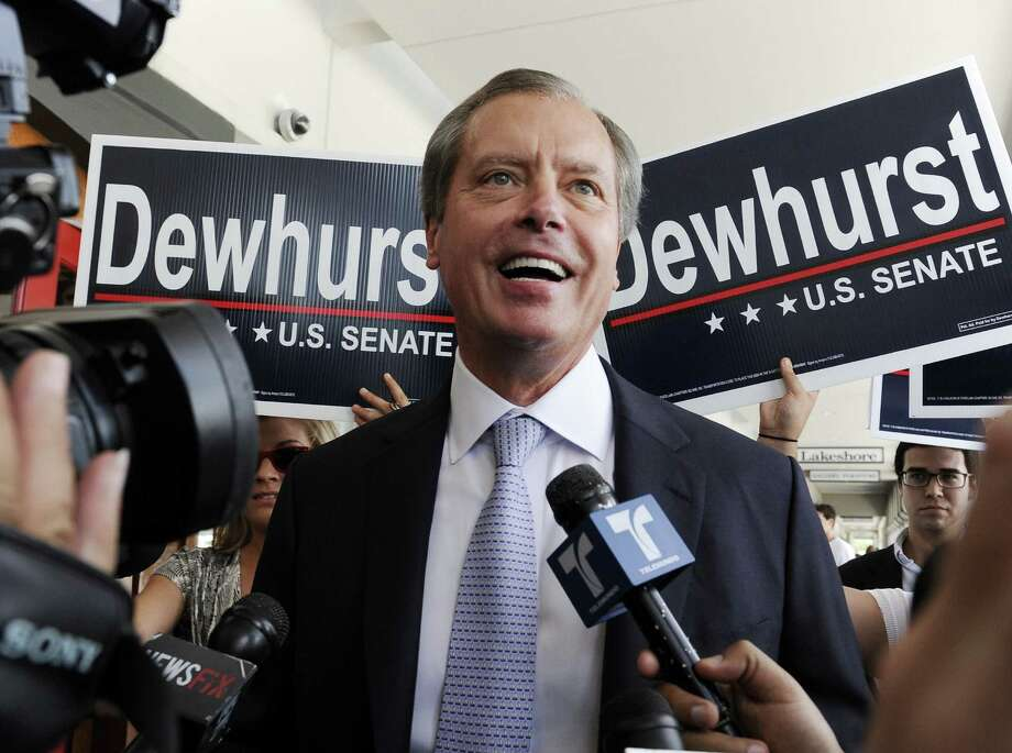 A reader wonders if Lt. Gov. David Dewhurst regrets his decision to redraw district maps in an effort to help Republicans. The effort may have undermined his bid for the Senate. Photo: File Photo, Associated Press
