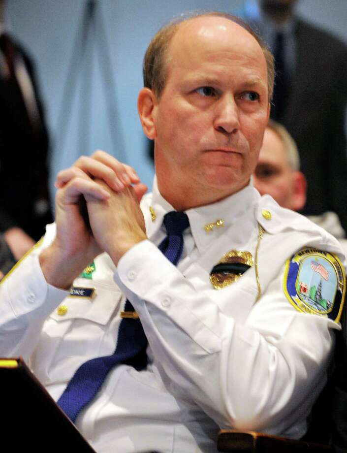 Newtown Police Chief Michael Kehoe Photo: Jason Rearick, The Stamford Advocate / The News-Times