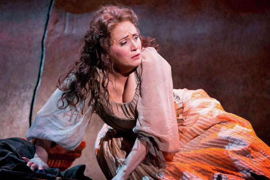 Patricia Racette, here as Manon Lescaut with Washington National Opera, will be in The Opera San Antonio's concert. Photo: Scott Suchman / Associated Press