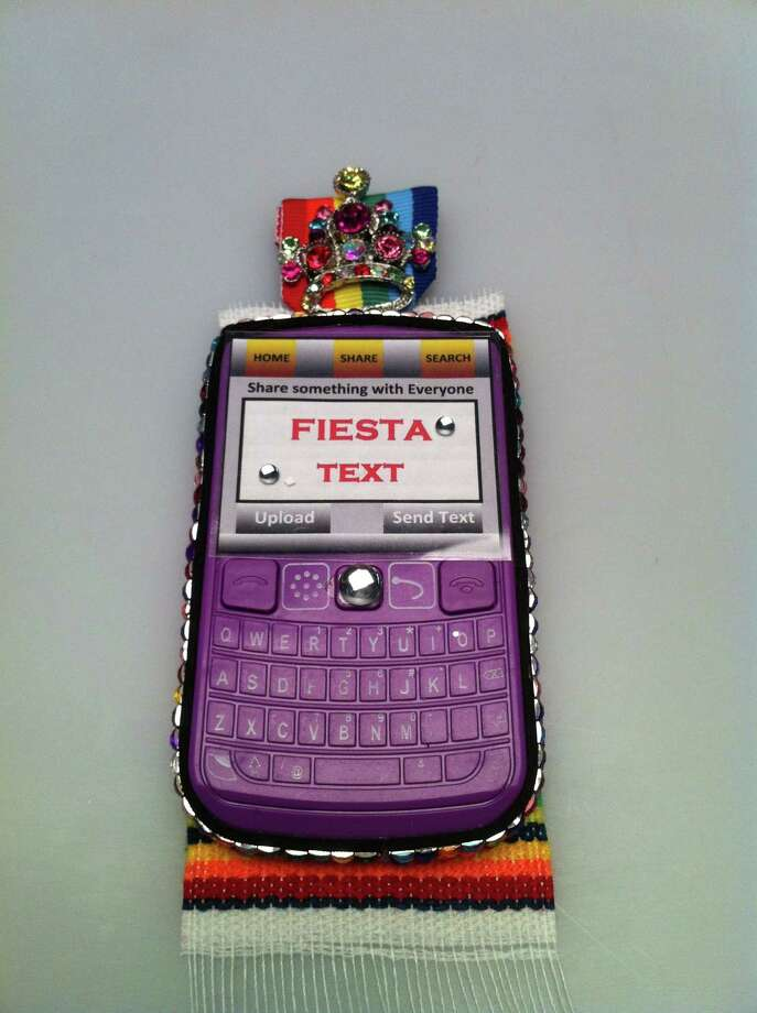 """Fiesta Text Medal"" by Donna Norenbergs Photo: Rene A. Guzman"