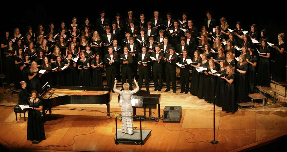 """The Fairfield University Glee Club will perform in a """"Mozart Meets Motown"""" program on Saturday, April 20, at the school's Regina A. Quick Center for the Arts. Photo: Contributed Photo"""