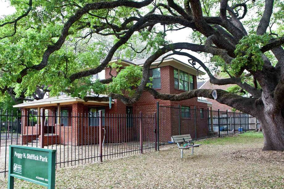 The tour will include a 1920 American Foursquare home that was protected from demolition by the community, along with the live oak tree next door. Photo: Unknown