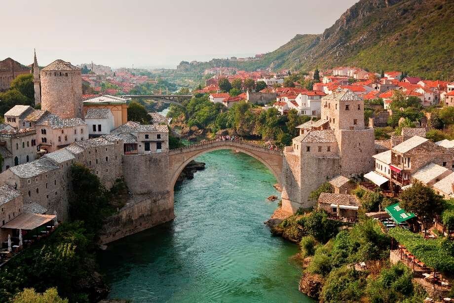 No. 8 BOSNIA AND HERZEGOVINA(score: 6.6)  Source: World Economic Forum\'s Travel & Tourism Competitiveness Report 2013  Pictured: The Old Bridge (Stari Most) in Mostar Photo: Richard I'Anson, Getty Images/Lonely Planet Images / Lonely Planet Images