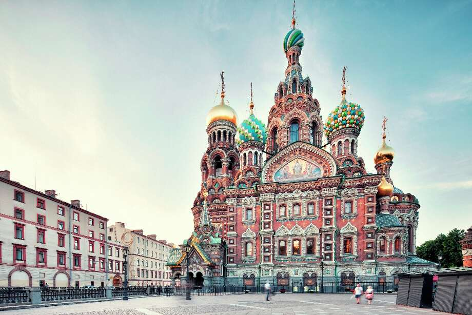 No. 138 RUSSIAN FEDERATION(score: 5.0) Source: World Economic Forum\'s Travel & Tourism Competitiveness Report 2013  Pictured: The Church of the Savior on Spilled Blood, in St. Petersburg, was completed in 1907. Photo: Tunart, Getty Images / (c) tunart