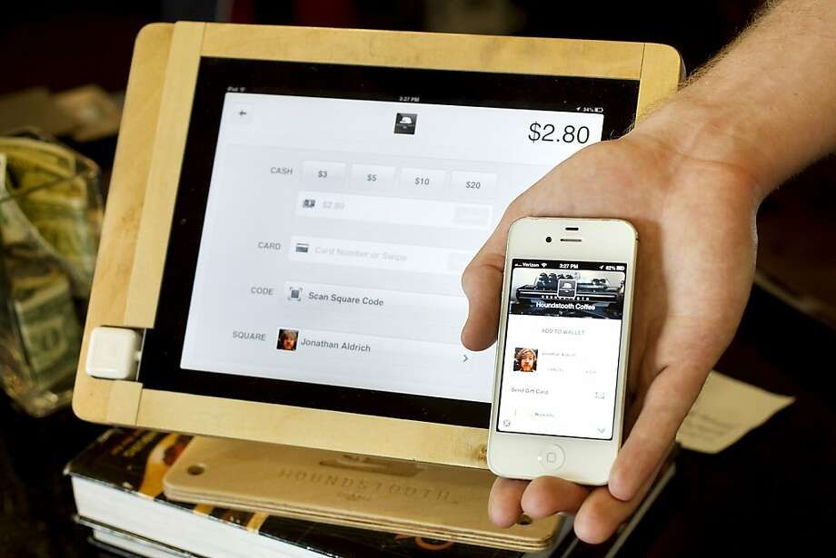 An example of a Square payment screen. Click through the gallery to read about etiquette rules that San Francisco needs. Photo: Laura Skelding, McClatchy-Tribune News Service