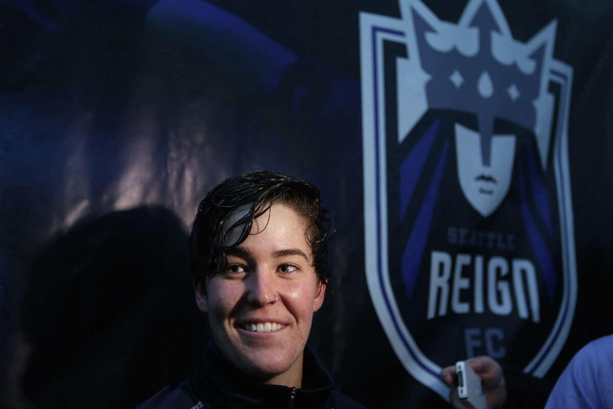 Seattle Reign's Keelin Winters --