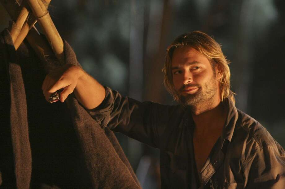Josh Holloway as Sawyer.