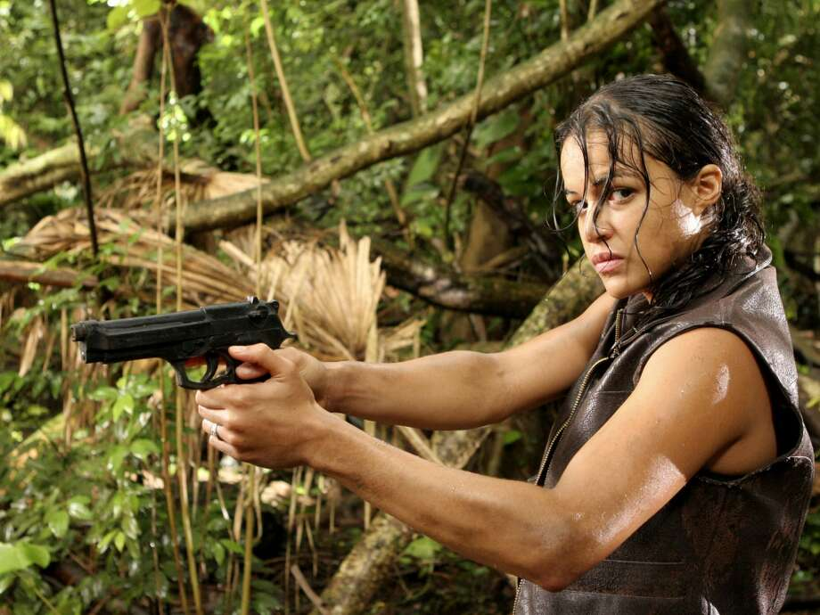 Michelle Rodriguez didn\'t have many episodes in \'\'Lost,\'\' but was memorable as Ana Lucia.