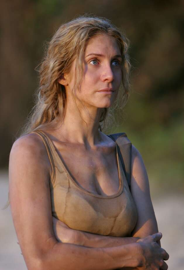 Elizabeth Mitchell, as Dr. Juliet Burke.