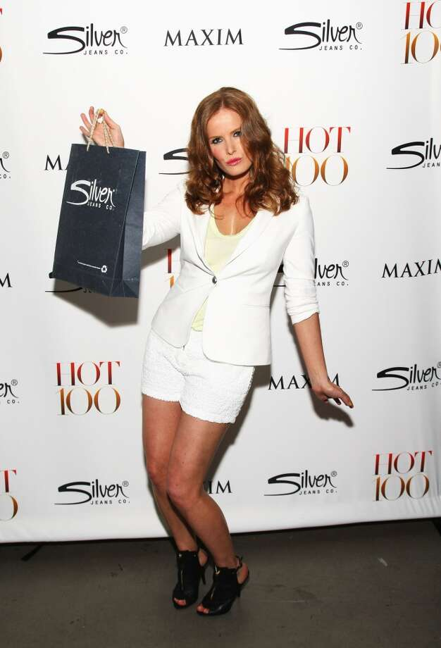 Rebecca Mader at a \'\'Maxim Hot 100\'\' party in 2012.