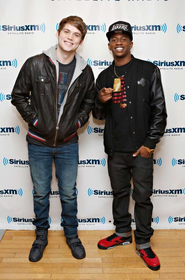 It\'s Walt all grown up. Malcolm David Kelley recently released a single as part of the music duo MKTO, with music partner Tony Oller, left.