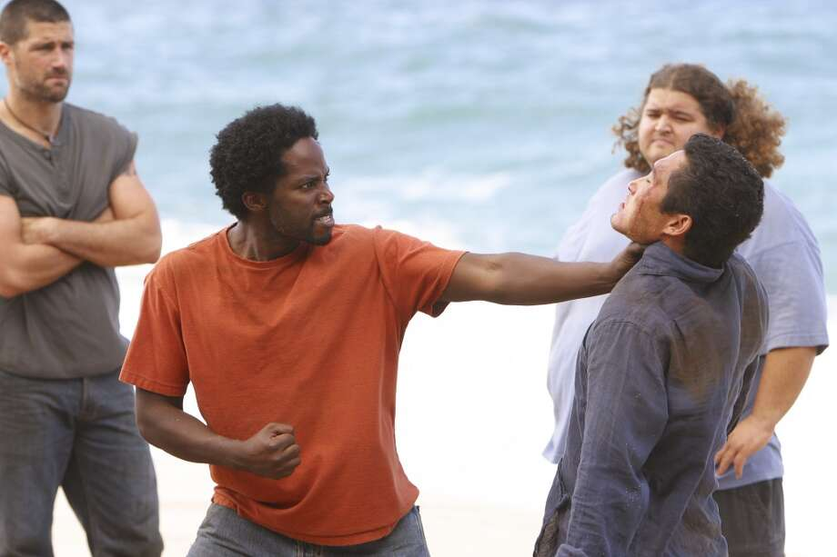 Harrold Perrineau, center, as Michael.