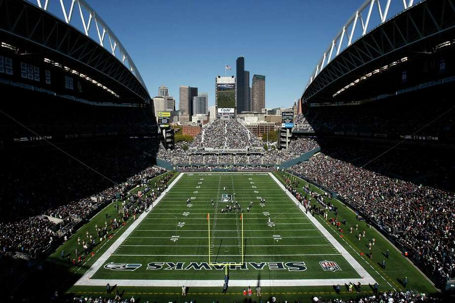 A general view of Qwest Field during a Seattle Seahawks game against the Jacksonville Jaguars at Qwest Field on Oct. 11, 2009. Photo: Jonathan Ferrey, Getty Images / 2009 Getty Images