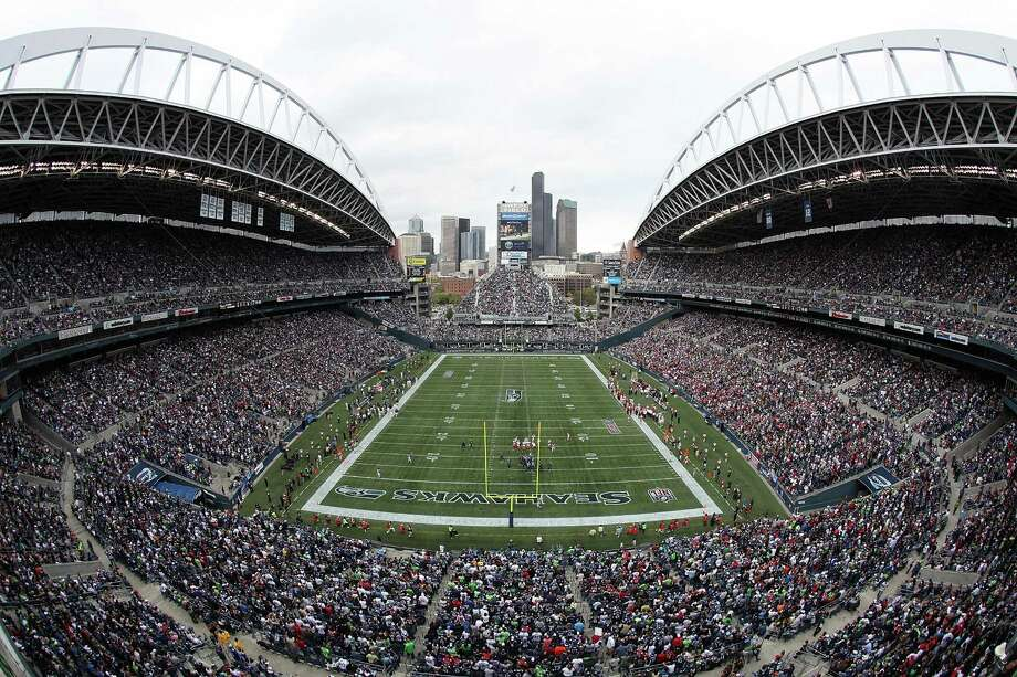 A general view of the stadium during the NFL season opener between the Seattle Seahawks and the San Francisco 49ers at Qwest Field on Sept. 12, 2010. Photo: Otto Greule Jr., Getty Images / 2010 Getty Images