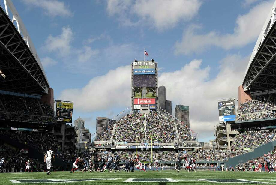 A view of CenturyLink Field during the Seahawks game against the Arizona Cardinals on Sept. 25, 2011. Photo: Harry How, Getty Images / 2011 Getty Images