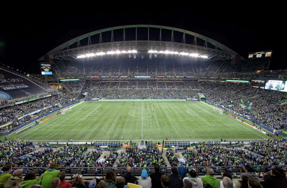 A general view during a soccer match between the San Jose Earthquakes and the Seattle Sounders FC at CenturyLink Field on Oct. 15, 2011. Photo: Otto Greule Jr., Getty Images / 2011 Getty Images
