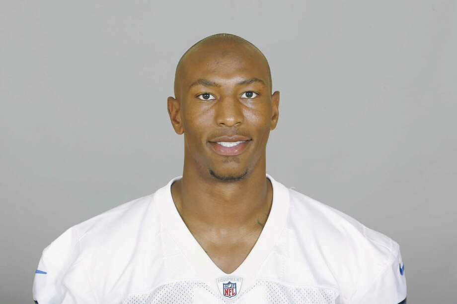 IRVING, TX - CIRCA 2010: In this handout image provided by the NFL,  Sam Hurd of the Dallas Cowboys poses for his 2010 NFL headshot circa 2010 in Irving, Texas. (Photo by NFL via Getty Images) *** Local Caption *** Sam Hurd; Photo: Handout / 2010 NFL