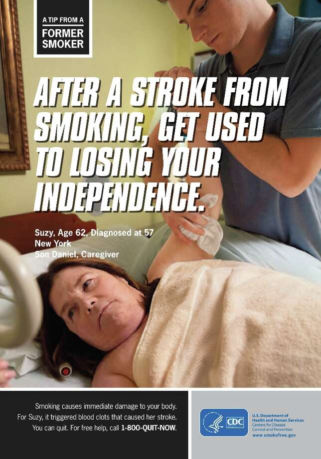 A tip from a former smoker.  Photo: U.S. Department Of Health And Hu
