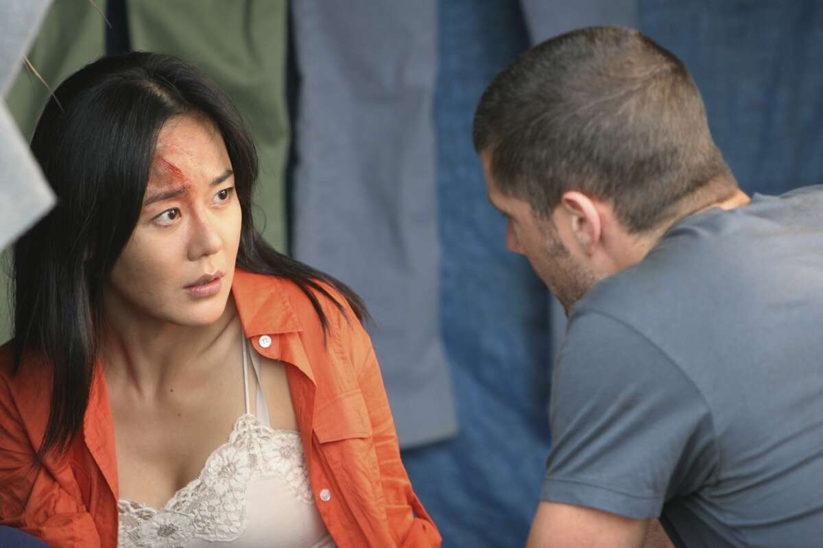 Korean American actress Yunjim Kim has also appeared in many Korean movies and TV shows.