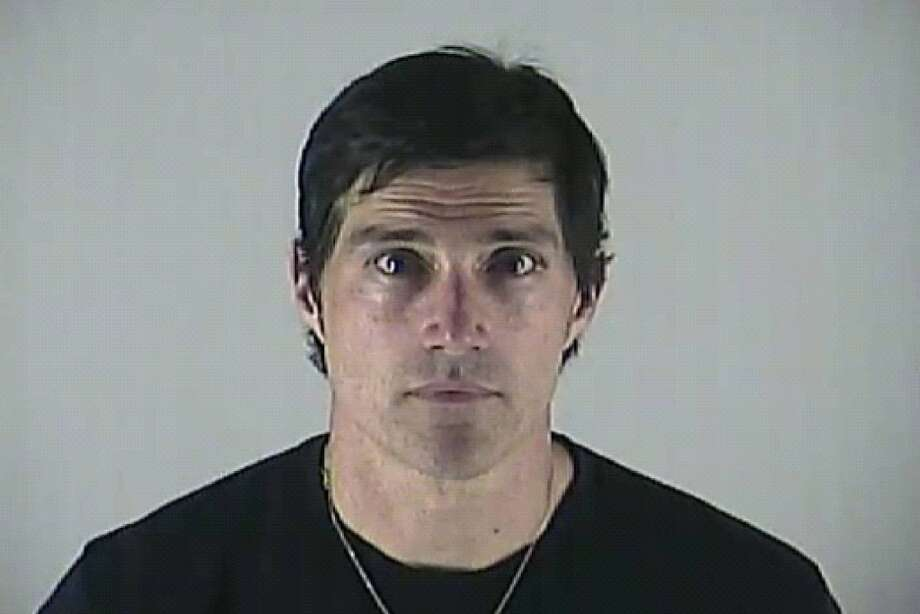 Matthew Fox was arrested in Bend., Ore. for DUI on May 4, 2012. This is his booking photo.