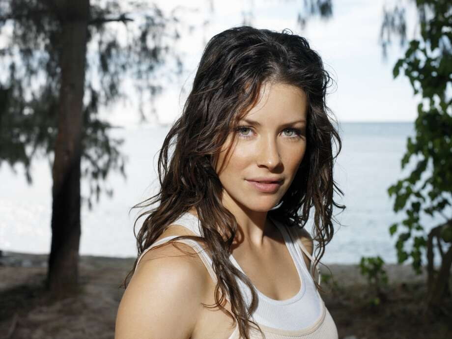 Evangeline Lilly, as Kate Austen.