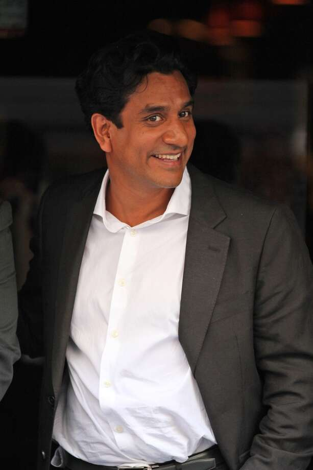 Naveen Andrews will star in the movie \'\'Diana,\'\' about the last years of Princess Diana\'s life. Andrews, who\'s pictured on the set in 2012, plays Dr. Hasnat Khan, Diana\'s last love.