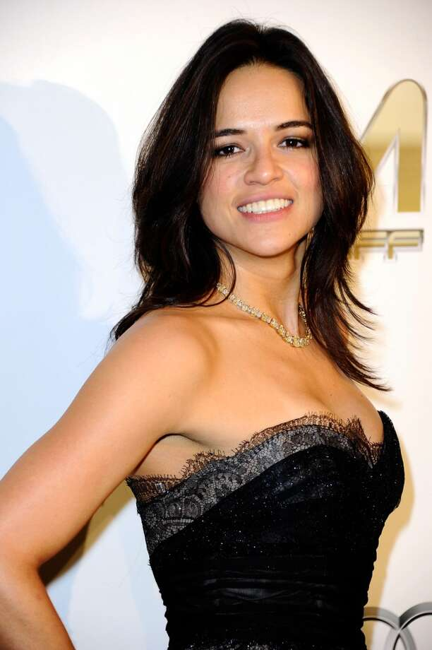 Michelle Rodriguez will appear next in \'\'Fast & Furious 6.\'\' She\'s pictured at the Oscars in 2012.