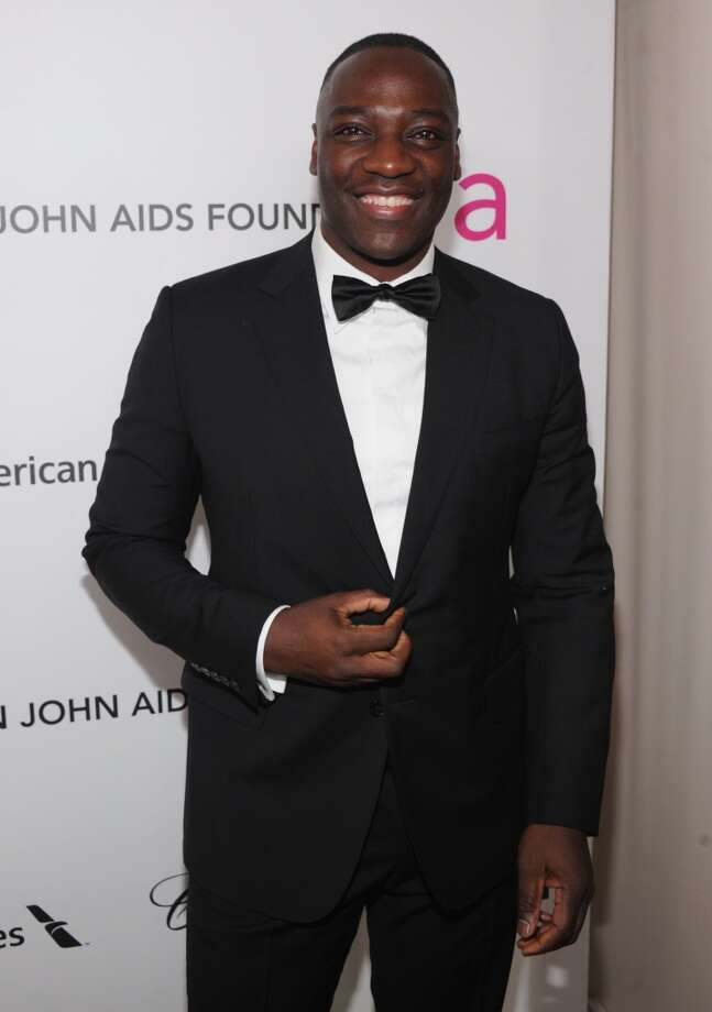 British actor and model Adewale Akinnuoye-Agbaje has recently been in the British spy show \'\'Hunted.\'\' He\'s picture in 2013.