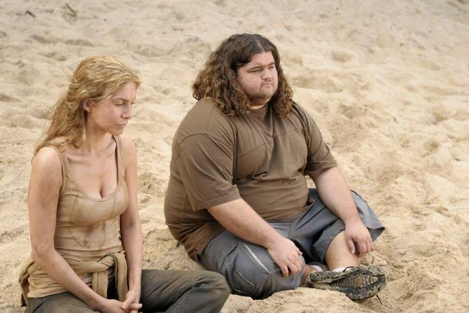 Jorge Garcia, right, was Hurley, a fan favorite.