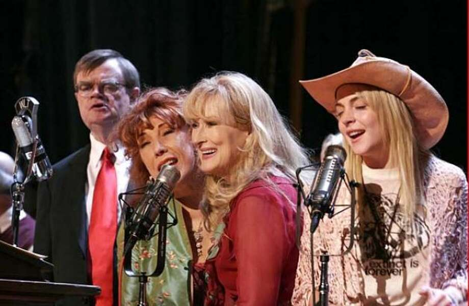 . . . But Altman also made THE PRAIRIE HOME COMPANION (terrible, except for the very last scene)