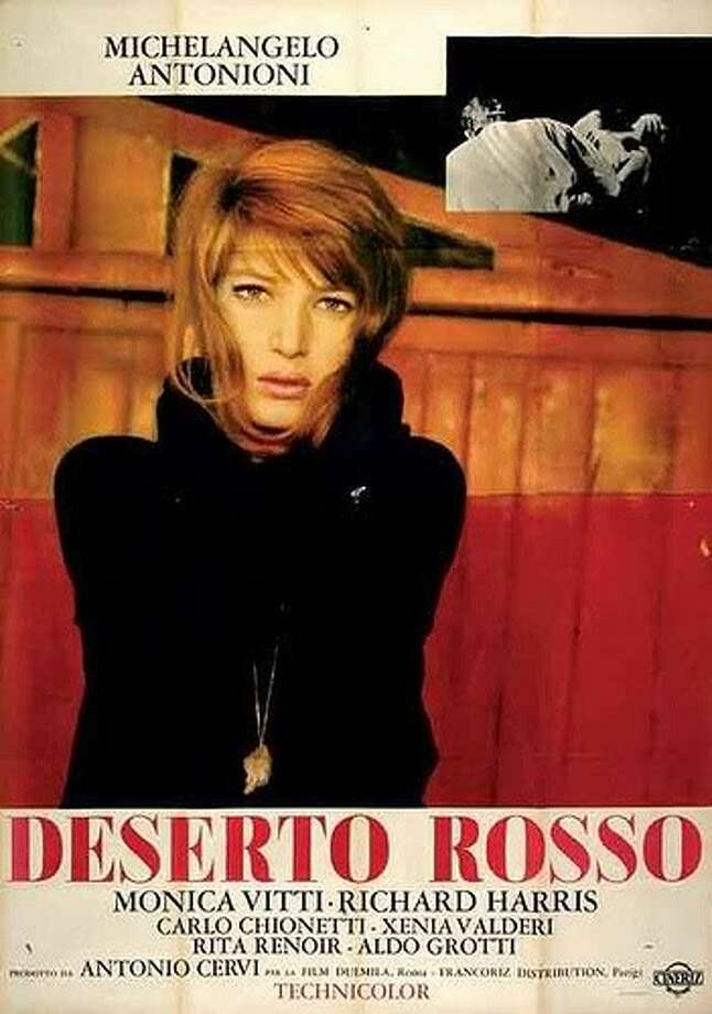 But Antonioni also made RED DESERT (not good)