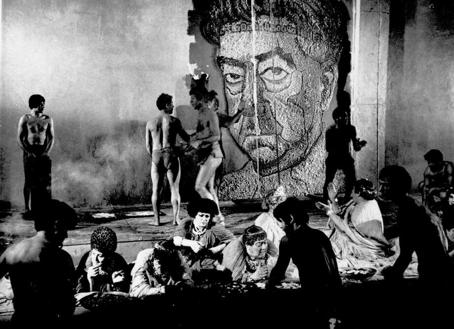 But Fellini also made SATYRICON (not good) Photo: Associated Press / AP FILES
