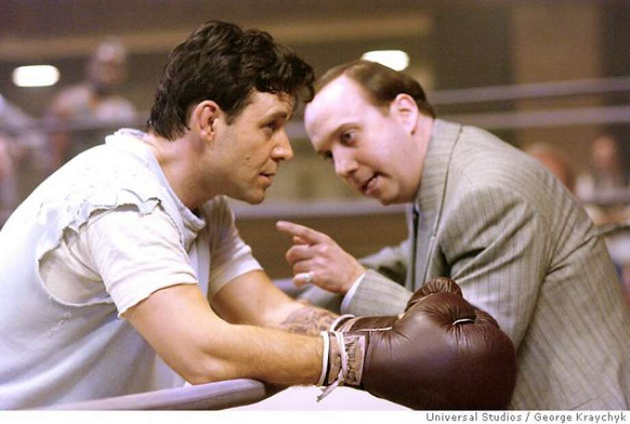 Ron Howard made CINDERELLA MAN (near great) . . .