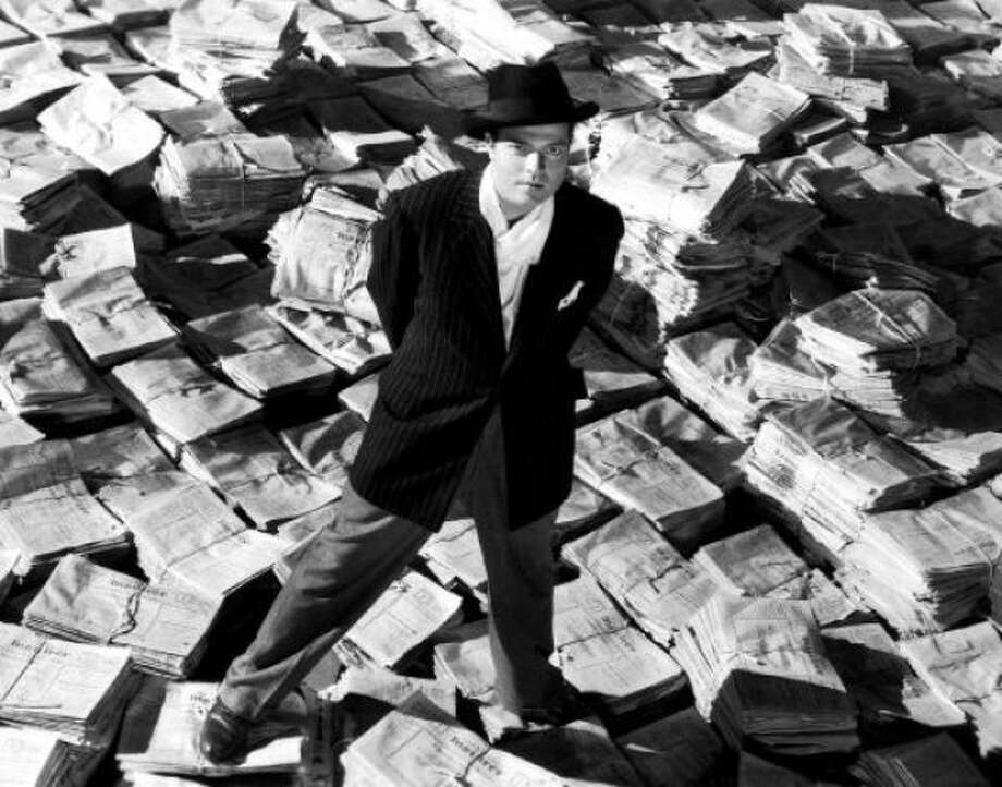 Orson Welles made CITIZEN KANE (great)...