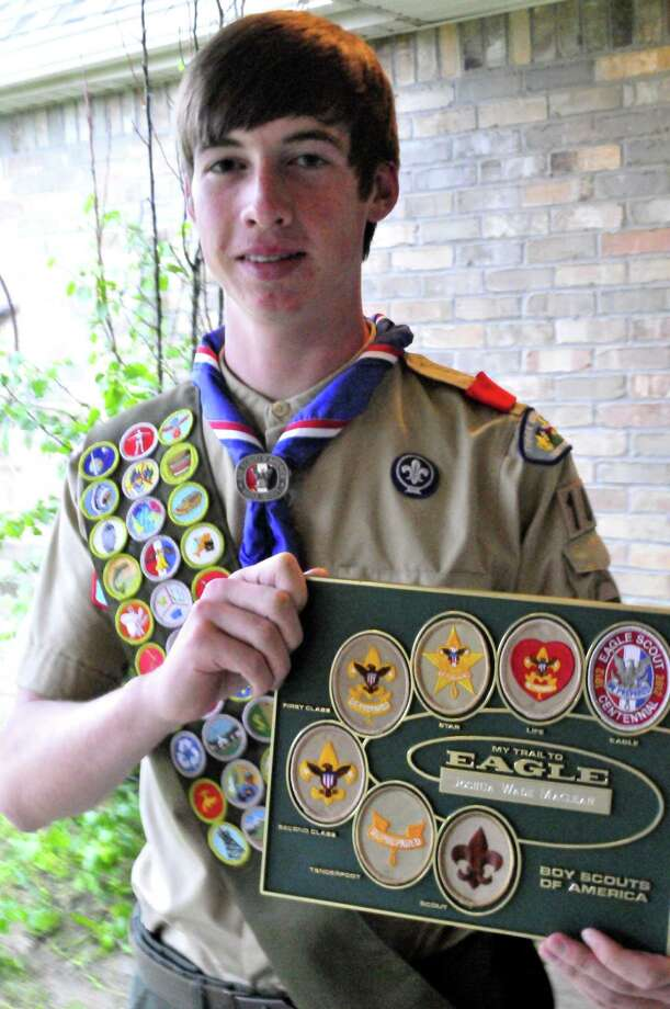 Lumberton resident Josh Maclean, 17, recently achieved his Eagle rank, Scouting's highest honor. The teenager has carried on a family legacy with the achievement, as his father, grandfather, great grandfather and great, great grandfather also got the Eagle rank. Photo: Cassie Smith