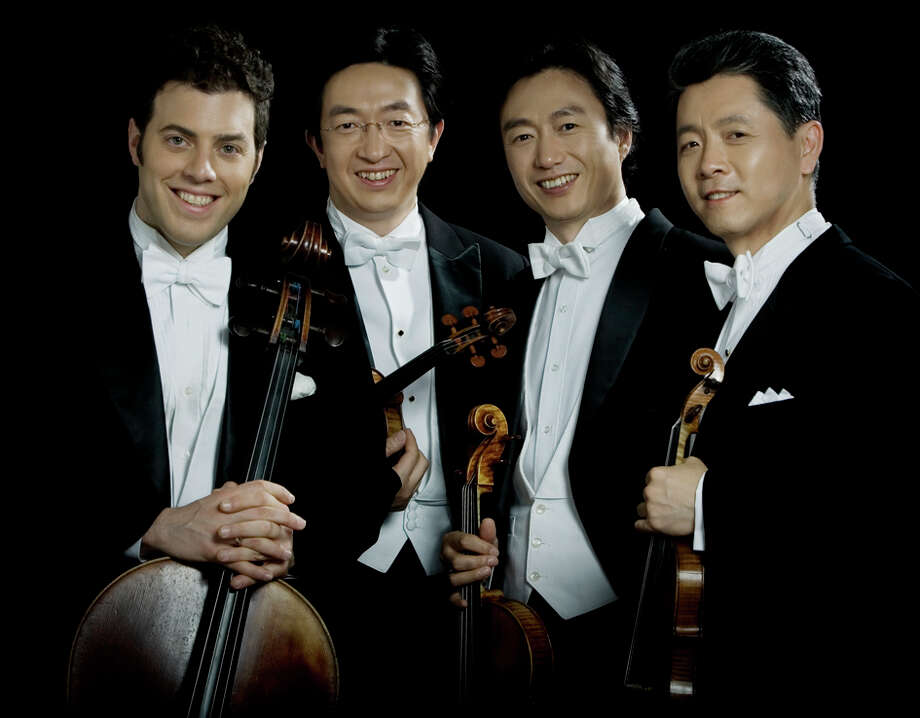 The Shangai String Quartet will perform in Newtown on Sunday afternoon. Photo: Contributed Photo