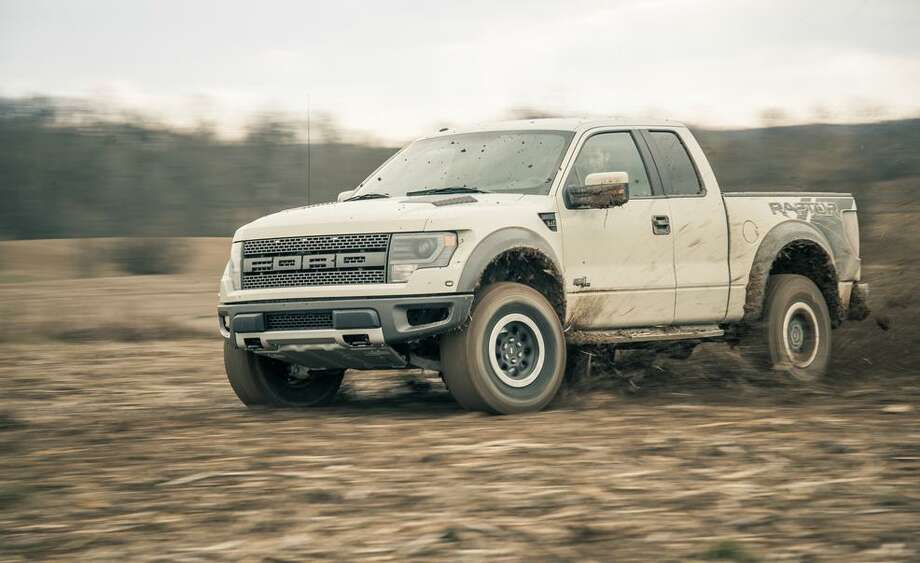 Ford F-Series	July sales: 60,449	Percent change from a year ago: +22.6 Photo: Ford Motor Co.
