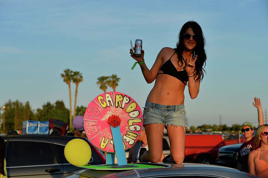 Taylor from New York attends the 2013 Coachella Music Festival at The Empire Polo Club on April 11, 2013 in Indio, California. Photo: Frazer Harrison, Getty Images / 2013 Getty Images