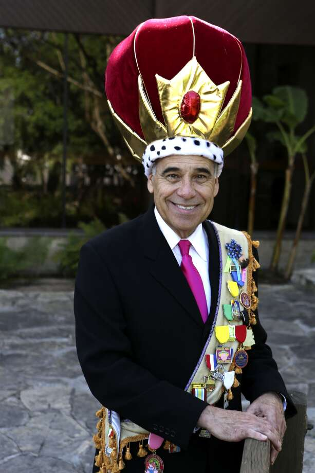 This year's King Anchovy is former U.S. Rep. Charlie Gonzalez. Photo: Helen L. Montoya, San Antonio Express-News