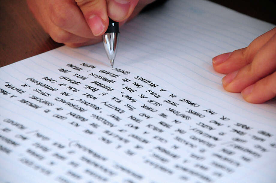 DysantigraphiaA person with this disorder is incapable of copying written or printed material. This can be cause by a stroke or other brain trauma. The person is often able to write perfectly so long as the material is dictated to them. Photo: Jjpacres, Flickr