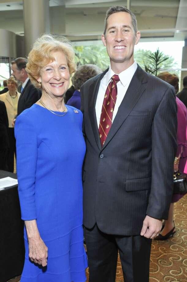 Susan Baker and Donovan Campbell